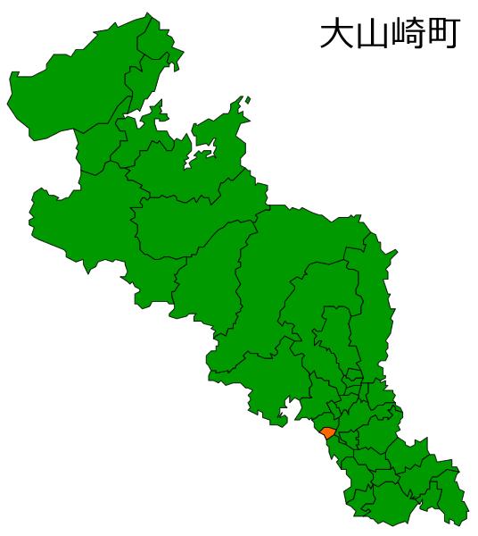 大山崎町の位置
